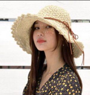 顔タイプ別、似合う夏帽子!